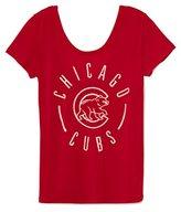 Victoria's Secret PINK Chicago Cubs Double Scoopneck Tee