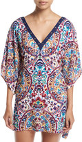 Nanette Lepore Festival Folkloric Coverup Dress