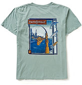 Fripp & Folly Men's Freshwater Reel Short-Sleeve Graphic Tee
