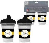 Baby Fanatic Pittsburgh Steelers Sippy Cup - 2 pack