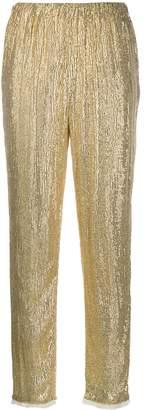 Mes Demoiselles Phenomenon sequin trousers