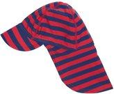 Jo-Jo JoJo Maman Bebe Sun Protection Hat (Baby)-Red/Navy-0-12 Months
