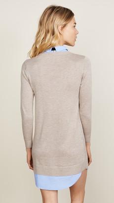 ENGLISH FACTORY Combo Shirtdress