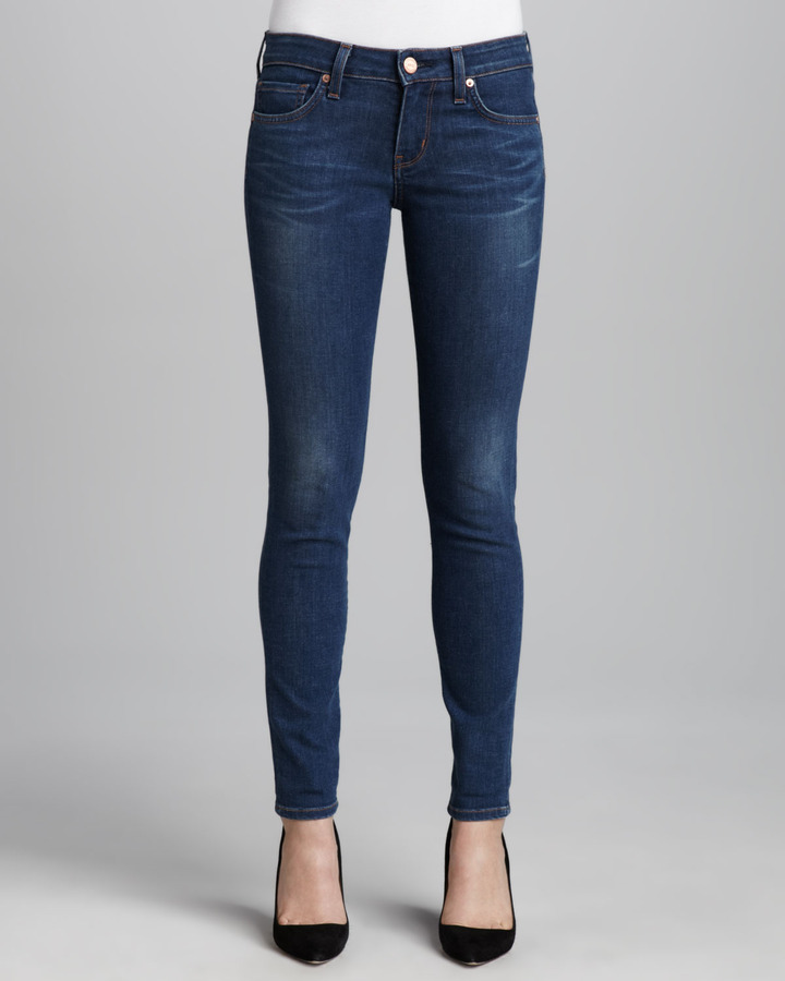 A.N.D. Denim Bailey Neps Whiskered Skinny Jeans