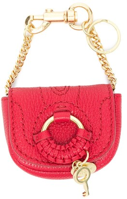 See by Chloe Hana chain-link keyring bag