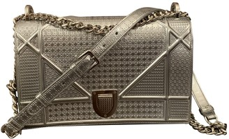 Christian Dior Diorama Metallic Leather Handbags