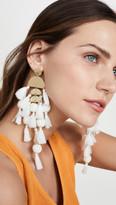 Stella + Ruby Large Chandelier Tassel Earrings