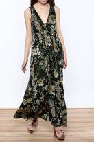 Odd Molly Floral Paisley Maxi Dress