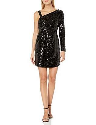 Armani Exchange A X Women's Sequin One Shoulder Party Dress