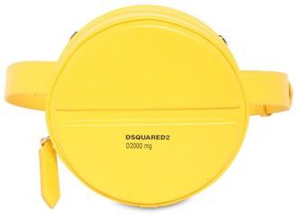DSQUARED2 Pills Round Leather Belt Bag