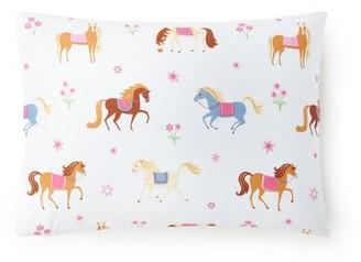 Wildkin Horses 100% Cotton Hypoallergenic Pillow Case