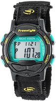 Freestyle Unisex 10019180 Predator Digital Display Japanese Quartz Black Watch