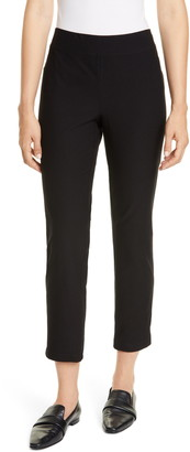 Eileen Fisher Slim Zip Ankle Knit Pants