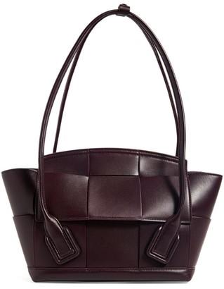 Bottega Veneta Leather Arco Top-Handle Bag