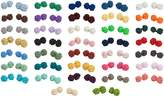 Jacob Alexander Wholesale Lot of 10 Silk Knot Mens Cufflinks