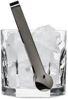 Sagaform Club Glass Ice Bucket with Tongs