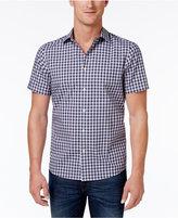 Michael Kors Men's Shane Check Cotton Shirt