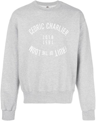 Cédric Charlier Fruit of the Loom sweatshirt