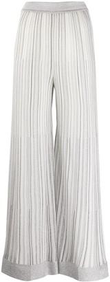 Missoni Metallic-Thread High-Waist Trousers