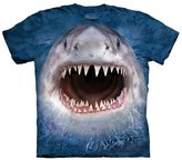 The Mountain Cotton Wicked Nasty Shark Design Novelty Youth T-Shirt (, XL)
