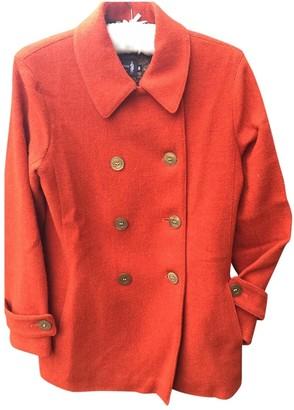 MACKINTOSH Orange Wool Coat for Women