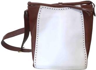 Salvatore Ferragamo White Leather Handbags