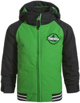 Burton Minishred Game Day Bomber Jacket - Waterproof, Insulated (For Toddler and Little Boys)