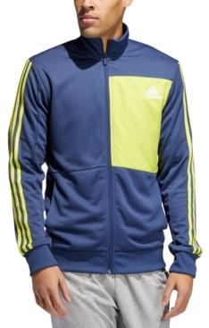 adidas Men's Hybrid Colorblocked Track Jacket