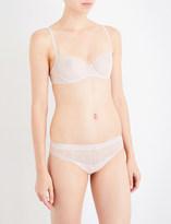 Chantelle Le Marais stretch-lace half-cup bra