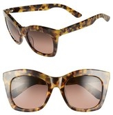 Maui Jim Women's Coco Palms 51Mm Polarizedplus2 Sunglasses - Dark Tortoise/ Hcl Bronze