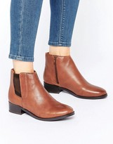 New Look Leather Ankle Boots
