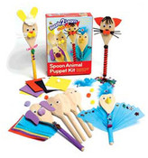 Center Enterprises Inc Ready2learn Craft Kit Spoon Animals