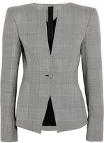 Gareth Pugh Prince Of Wales Checked Wool Blazer