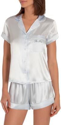 The Mrs Satin Short Pajamas