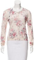 Christian Dior Embellished Wool Cardigan