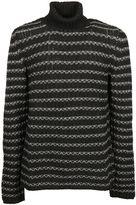 Aran Cashmere Turtleneck Sweater