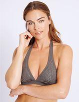 Marks and Spencer Studded Triangle Bikini Top