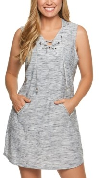 Thumbnail for your product : Dotti Ocean Tide Lace-Up Hoodie Cover-Up Women's Swimsuit