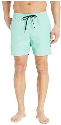 Vans Primary Volley II Boardshorts (Dusty Jade Green) Men's Swimwear