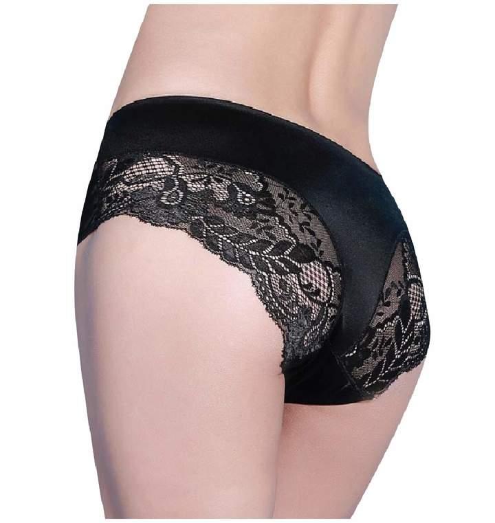 36336317ce37 Black Satin Panties - ShopStyle Canada