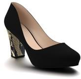 Women's Shoes Of Prey Block Heel Platform Pump
