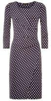 Peserico Polka Dot Jersey Dress