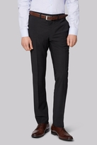 Moss London Performance Skinny Fit Charcoal Trousers