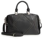 Celine Dion Nocturne Leather Satchel - Black
