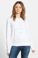 Wildfox Couture Women's The Beach Is My Happy Place Pullover