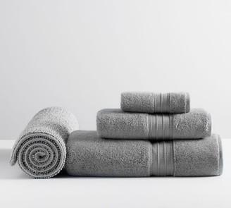 Pottery Barn Hydrocotton Organic Towel Bundle With Bath Mat - Set of 4