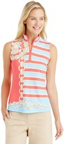 J.Mclaughlin Bedford Sleeveless Top in Majesty