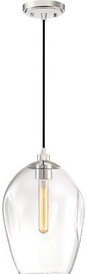 Mercury Row Byford 1 Light Single Rectangle Pendant Shopstyle