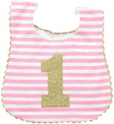 Mud Pie I Am One Glitter Bib
