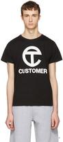 Telfar Black 'Customer' T-Shirt